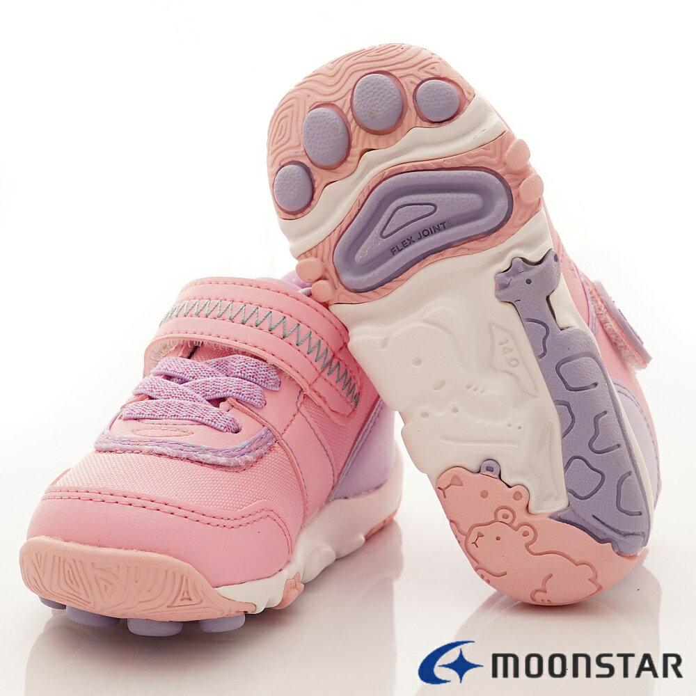 日本Moonstar月星機能童鞋2E穩定款-CRC22754粉(中小童段) 6