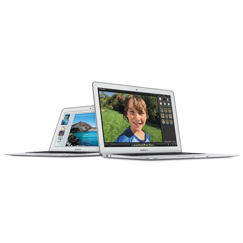 "Apple MacBook Air MJVP2LL/A 11"" LCD Notebook - Intel Core i5 Dual-core (2 Core) 1.60 GHz - 4 GB LPDDR3 - 256 GB SSD - Mac OS X 10.10 Yosemite - 1366 x 768 - Silver - Intel HD Graphics 6000 LPDDR3 - Bluetooth - English Keyboard - Front Camera/Webcam - IEEE 3"