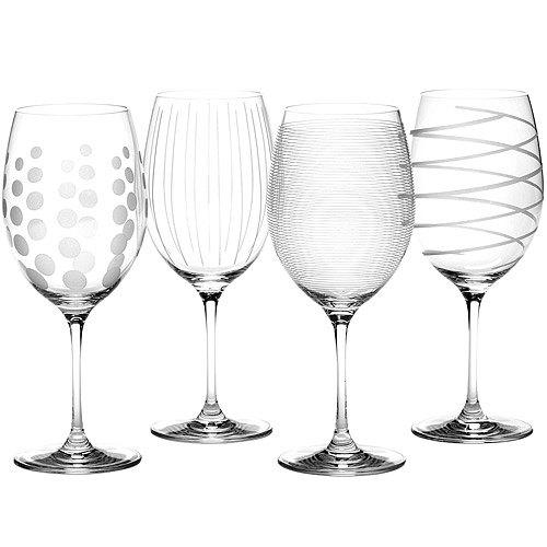 《CreativeTops》Mikasa紋飾紅酒杯4入(685ml)