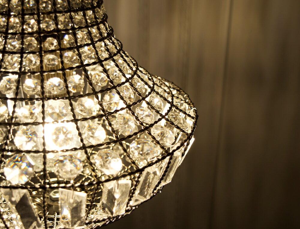 古銅提籠水晶吊燈-BNL00106 9