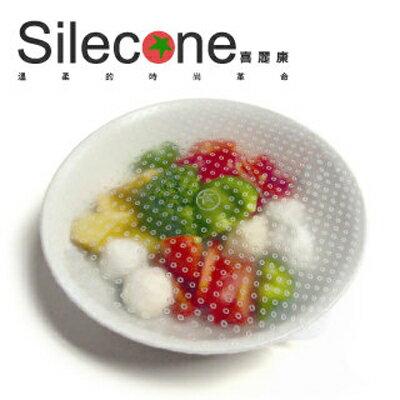 【Silecone喜麗康】食品級矽膠保鮮膜超值2入組(20cm+15cm)
