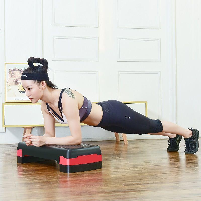 健身踏板踏步臺階運動腿部塑形有氧韻律跳操 免運