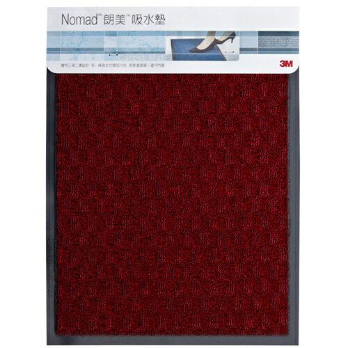 3M 朗美吸水墊-紅色(45x60cm)【愛買】