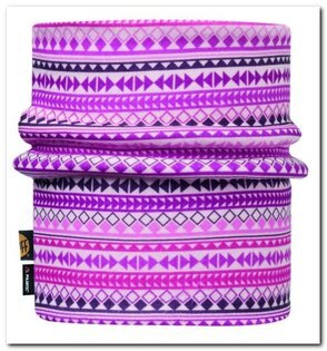 【【蘋果戶外】】BF113412西班牙BUFF紫色鑽石polar兒童青少年保暖領巾小頭圍吸濕排汗