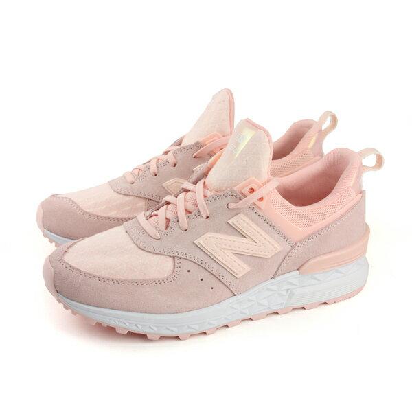 NEW BALANCE 574系列 复古鞋 运动鞋 粉红色 女鞋(窄楦) WS574SNC-B no401