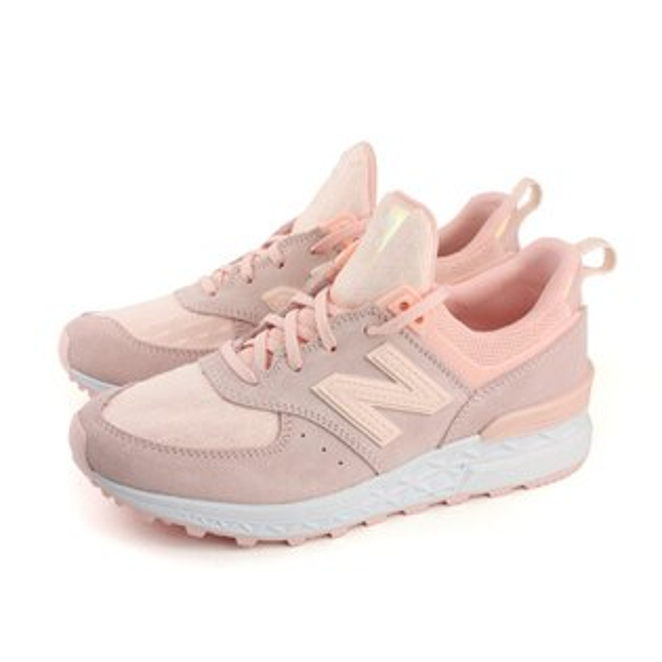 NEWBALANCE574系列復古鞋運動鞋粉紅色女鞋(窄楦)WS574SNC-Bno401