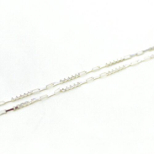 ECO安珂.16吋18吋方形鎖鏈 義大利925純銀項鍊(2款)【sn021】