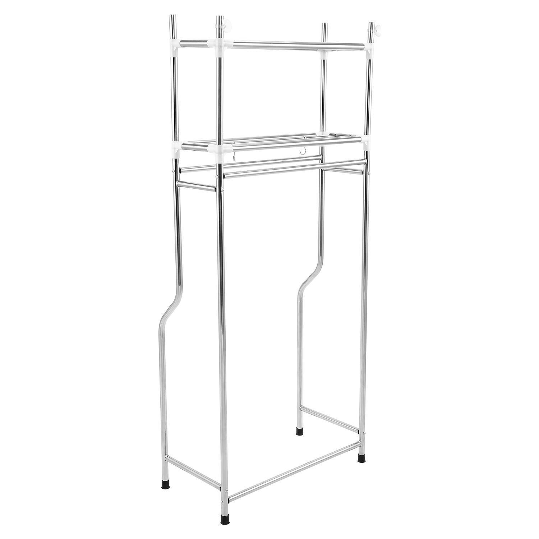 Washing Machine/Laundry/Toilet/Bathroom Storage Rack Shelf Organizer 0