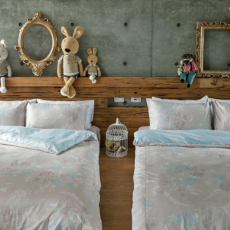 床包  /  雙人-100%精梳棉【奇幻不思議-夢遊愛麗絲】 含兩件枕套 奇妙童話時光 戀家小舖 台灣製 居家生活節 4