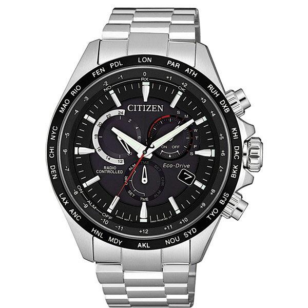 【go錶趣】CITIZEN 星辰(CB5838-85E)光動能電波三眼計時男錶