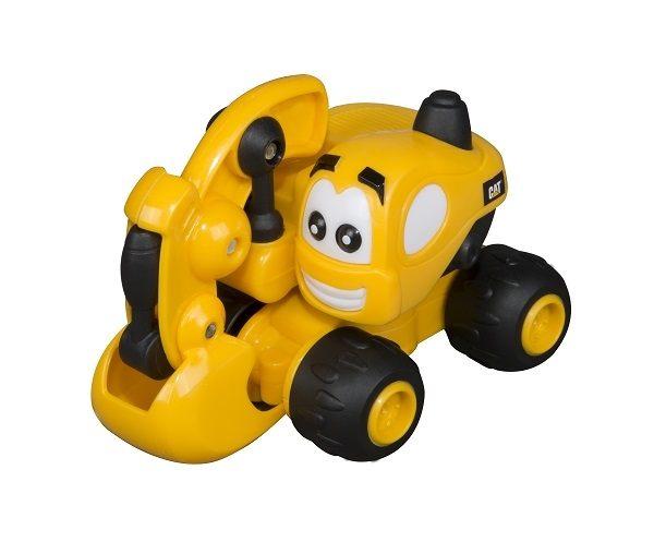 【CAT】3吋可愛造型工程車-挖土機 CA80404
