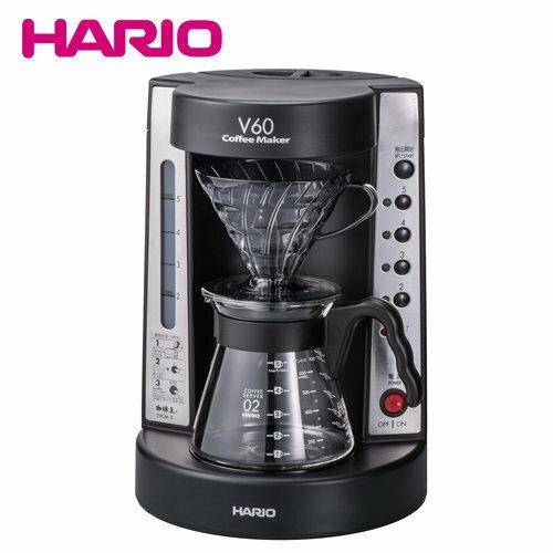 【沐湛咖啡】 HARIO V60珈琲王 手沖美式咖啡機 咖啡王 電動濾滴式咖啡壺EVCM-5B-TG 2~5杯 公司貨
