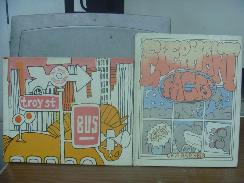 【書寶二手書T8/語言學習_PLH】The Troy ST.Bus_Elephant Faces_2本合售