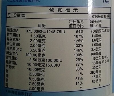 得意人生 葉黃素30mg+蝦紅素(180顆/瓶) [大買家]