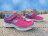 [最後一雙:14cm]《下殺5折》Shoestw【81702NNPPR】SKECHERS 小童鞋 桃紅紫 黏帶 魔鬼氈 童鞋 0