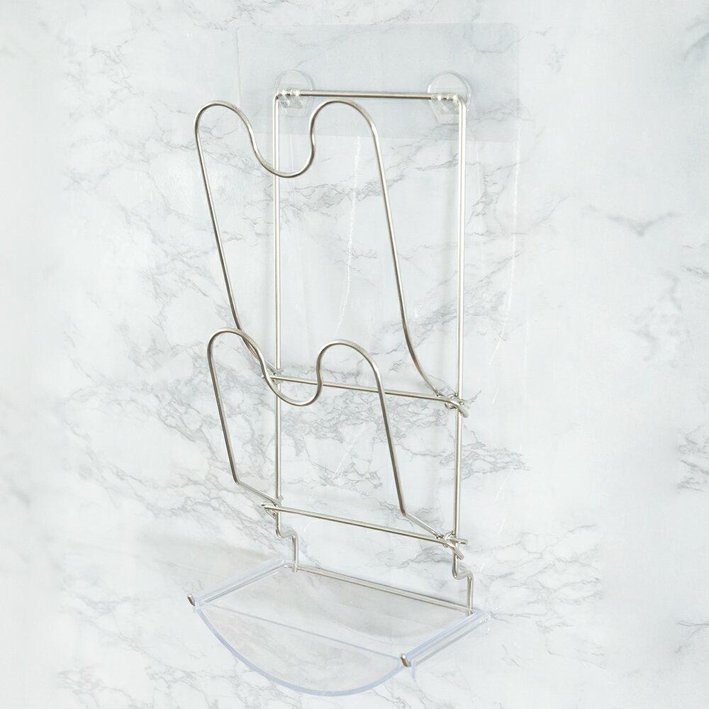 無痕貼 / 置物架 peachylife霧面304不鏽鋼鍋蓋架 MIT台灣製 完美主義【C0093】 3