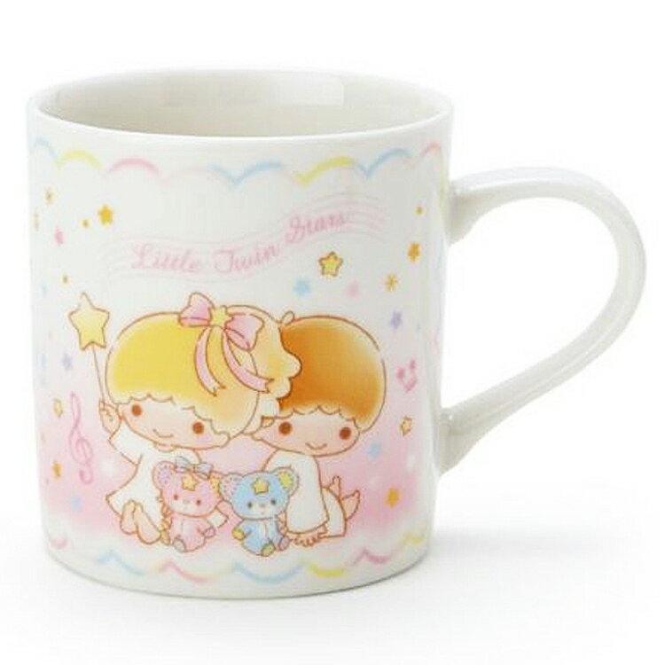 金正陶器日本製 三麗鷗 雙子星 陶瓷 馬克杯 星空 kiki lala 茶 飲料天使  日本進口正版 303721