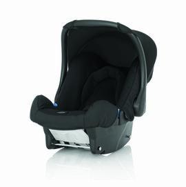 【淘氣寶寶】Britax BABY-SAFE 基本款提籃型安全汽車座椅-黑【英國皇室御用品牌】