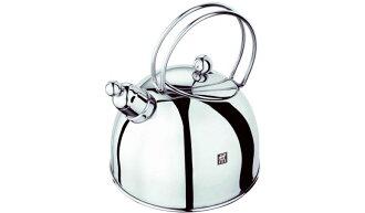 Zwilling 雙人牌 不銹鋼鏡面水壺 茶壺 笛壺 開水壺 2.5L