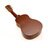 """21"""" Soprano Cute Wooden Coffee Ukulele Guitar With Bag 3"""