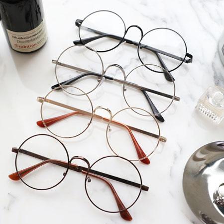 韓版復古金屬圓框眼鏡眼鏡圓框圓框眼鏡平光眼鏡裝飾眼鏡復古文青【N102842】