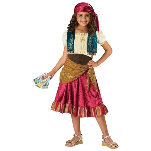 Gypsy Girl Child Halloween Costume 0