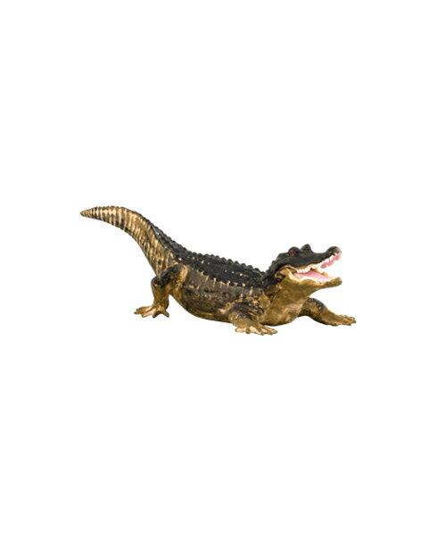 【淘氣寶寶】 美國 B.Toys 感統玩具 Terra 北美洲動物-短吻鱷