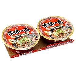 味丹味味一品極品紅燒牛肉碗麵178g*2【愛買】