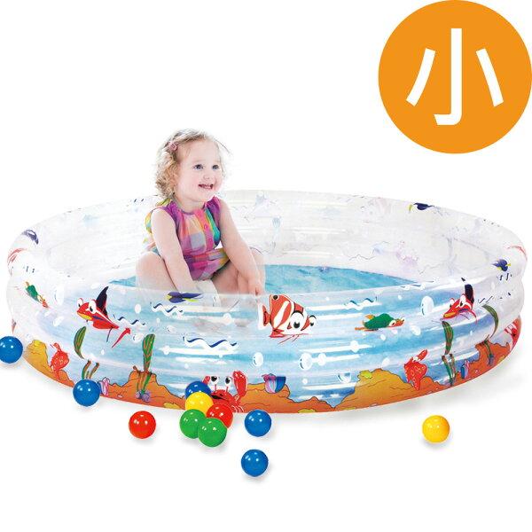 TheLife 樂生活:寶貝樂海洋動物三環水池游泳池(小)(BTSPOF01150)