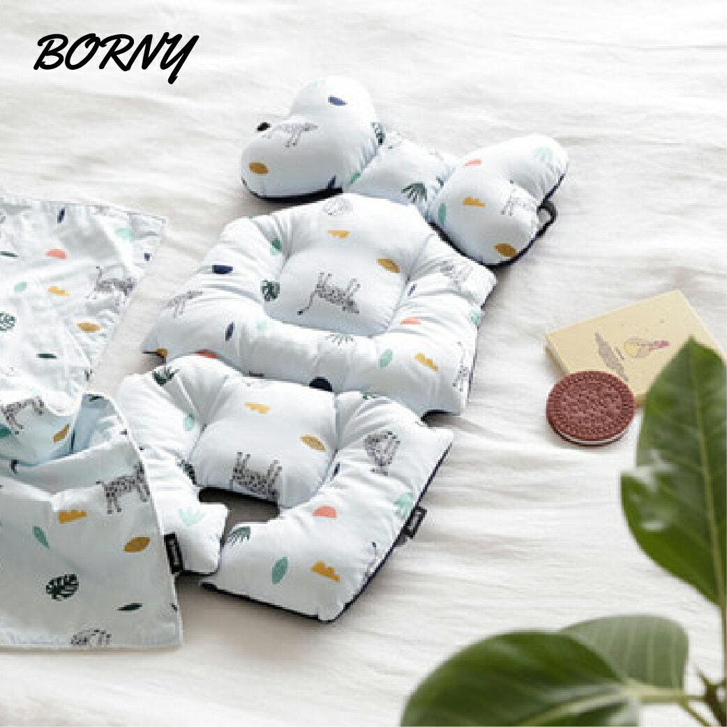 【新色上市】韓國【 Borny 】韓國【Borny】全身包覆墊(推車、汽座、搖椅適用)(叢林篇)