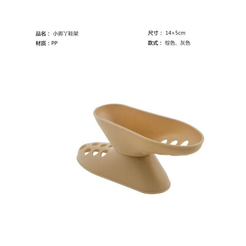 鞋子收納架【SG332】立體雙層鞋架(二雙入/組) 日式小腳丫形雙層立體整理鞋架 鞋托 居家必備xxxXxboykimo
