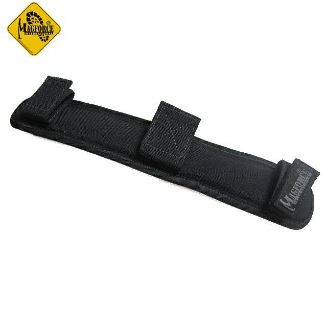 Magforce 馬蓋先 1.5吋透氣肩墊/側背包肩墊/側背包配件 台灣製 MP0207 黑