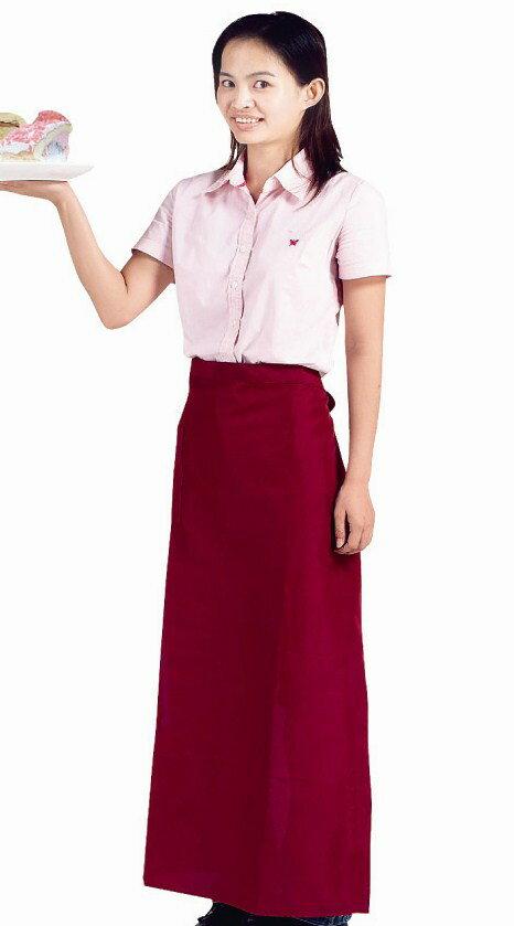防水半身圍裙-加長