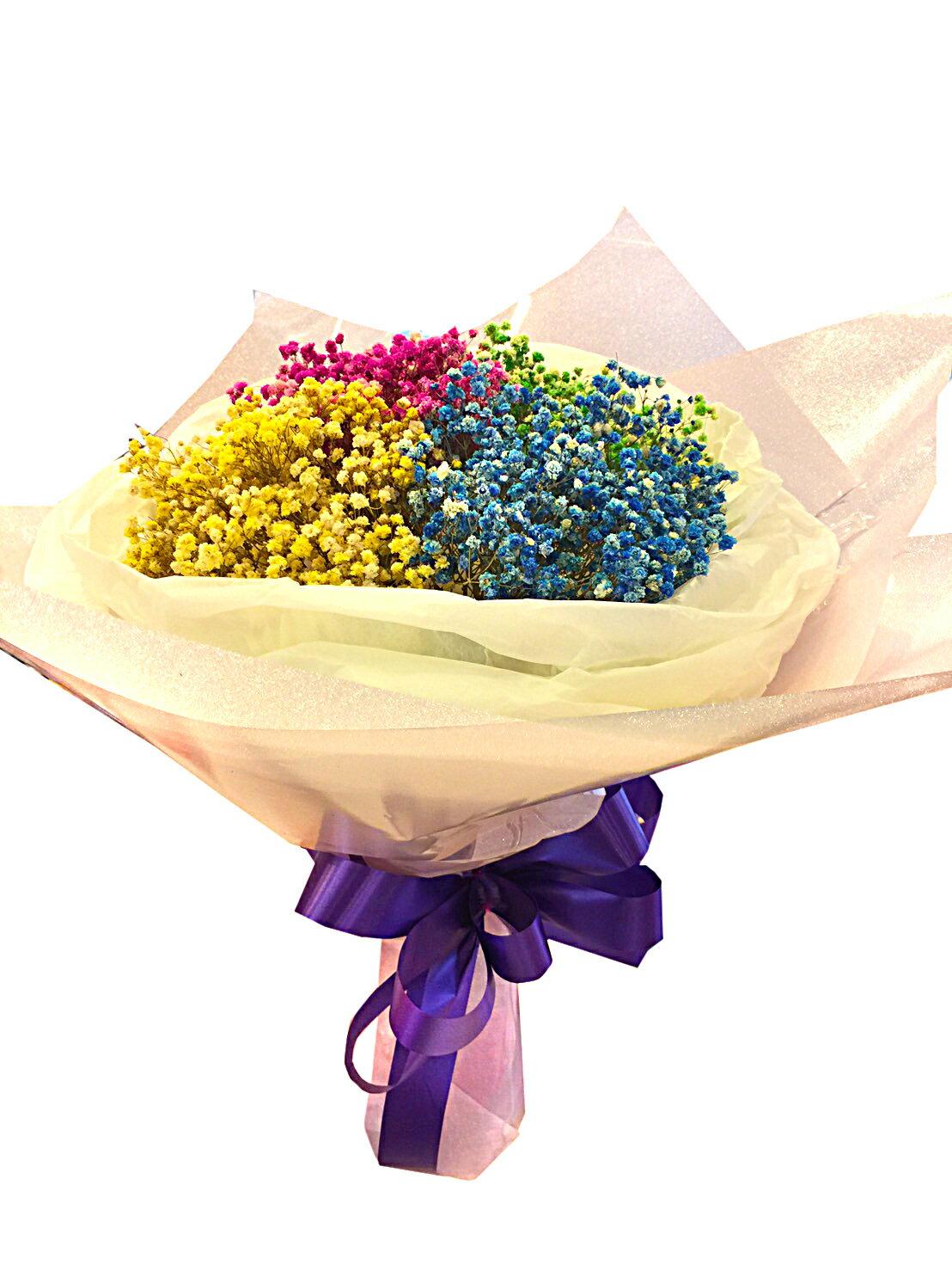 X射線【Y040022】乾燥花束,滿天星/捧花/情人節禮物/婚禮/求婚/送禮/畢業禮物/母親節