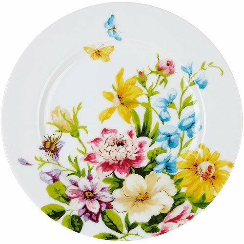 《CreativeTops》Katie淺餐盤(花園白19cm)
