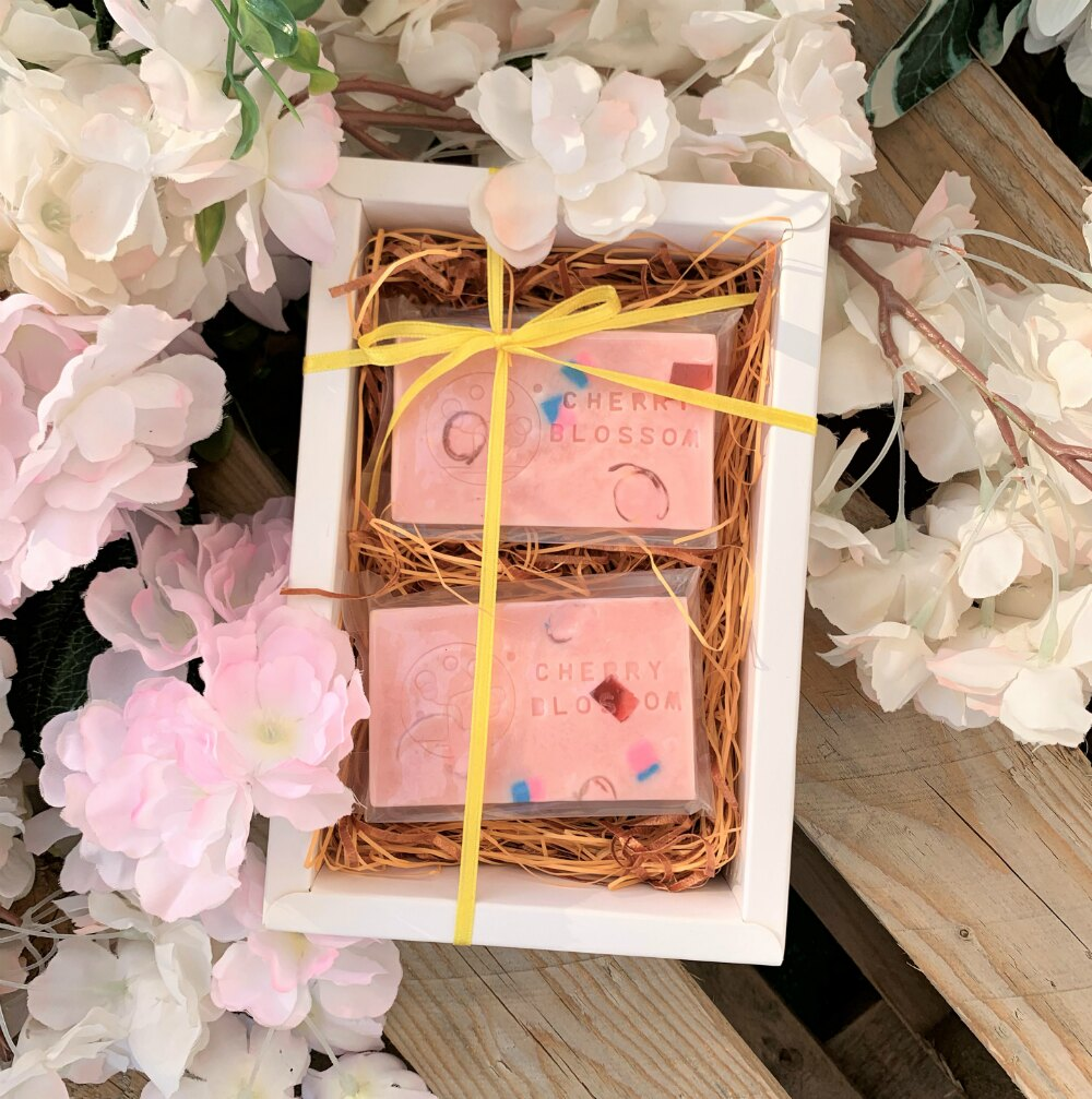 手工皂/【櫻花粉粉皂】Cherry blossom/【Bubblinsoap】