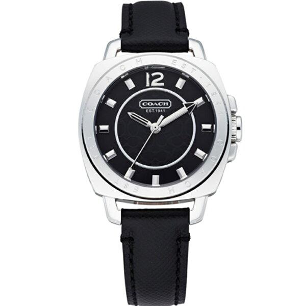 COACH典雅風采腕錶34mm黑