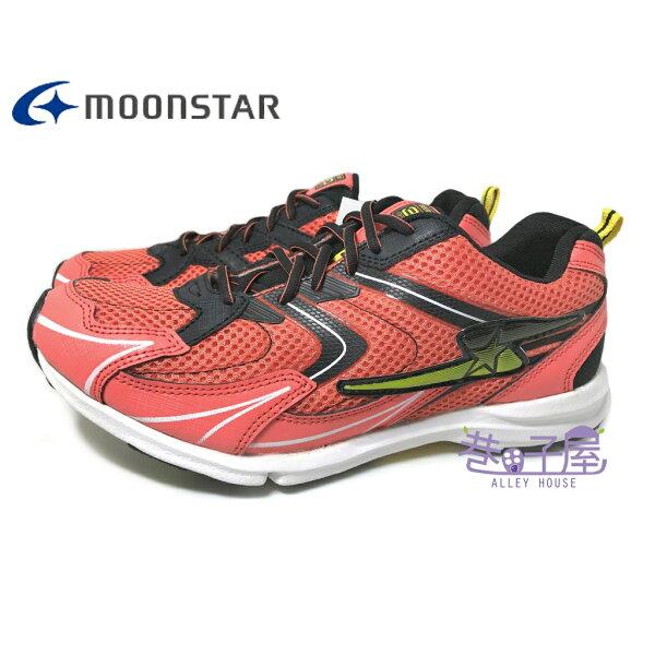 巷子屋:【巷子屋】Moonstar月星童款SUPERSTAR-輕量競速健康機能運動慢跑鞋[6422]橘超值價$690【單筆消費滿1000元全會員結帳輸入序號『CNY100』↘折100】