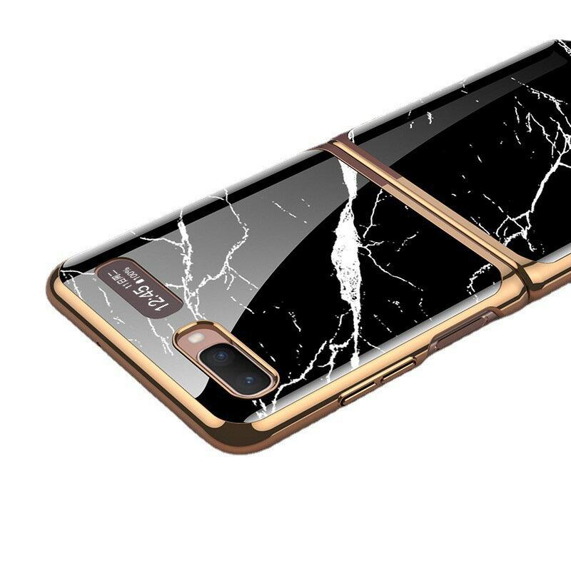適用三星Galaxy Z flip手機殼全包防摔折疊屏電鍍f7070創意女外殼