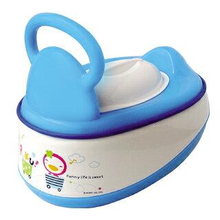 『121婦嬰用品館』PUKU 5合1便器 - 藍 0