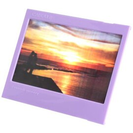 拍立得配件 和信嘉 WIDE 小相框 紫色 instax mini 富士 Wide210 / Wide300