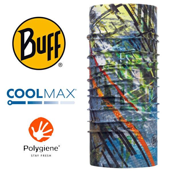 【Buff西班牙】魔術頭巾系列COOLMAX抗UV頭巾-都會叢林/BF117031