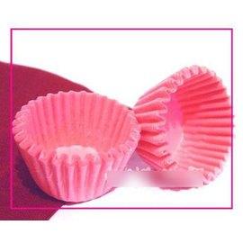 【紙杯托-油紙-大粉-5*2.5-10包/組】油紙托 紙杯 一次性 巧克力蛋糕托(上口可展開,底徑5*高2.5cm)30張/包,10包/組(可混選)-8001006