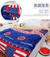 美國隊長周邊商品推薦法蘭絨x羊羔絨雙面暖暖被/厚毯被_美國隊長《GiGi居家寢飾生活館》