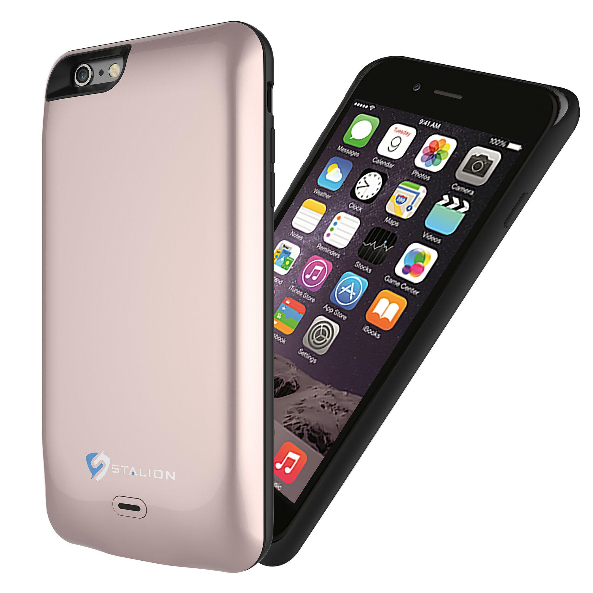 new concept 15949 d771c Apple iPhone 6/6s Plus Battery Case Rose Gold