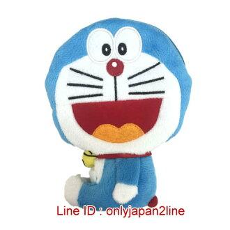 【真愛日本】16122800001全身伸縮票卡零錢包-開嘴叮噹   Doraemon 哆啦A夢 小叮噹 票卡夾 零錢包