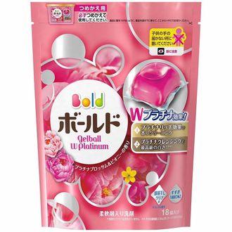 現貨「P&G」超好用!3D立體消臭洗衣球補充包6包(18顆 / 包,共108顆) 2