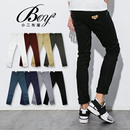 ☆BOY-2☆【JN4052】韓版窄身男裝休閒長褲 0