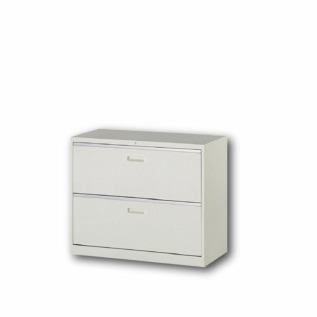 【哇哇蛙】理想櫃/一般抽屜二層式 UD-2 辦公 學校 收納 文件報表 置物櫃 分類櫃 隔間櫃 鐵櫃 資料櫃
