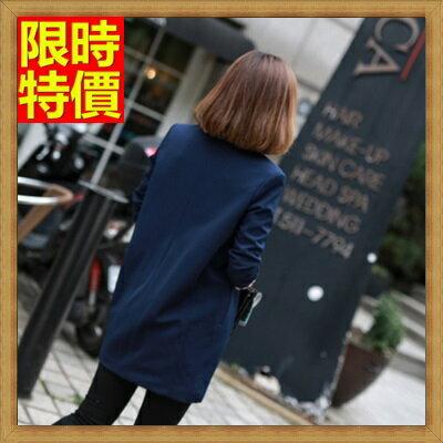 西裝外套中長版女外套-修身潮流百搭時尚顯瘦新款西裝外套1色71n45【獨家進口】【米蘭精品】